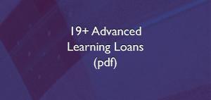 19+ Advanced Learning Loan